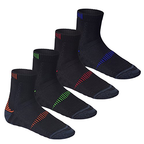 CFLEX 4 Paar Orig Active Performance Socke mit Klima- u. Dämpfungsfunktion in 4 Farben, Größe 39-42