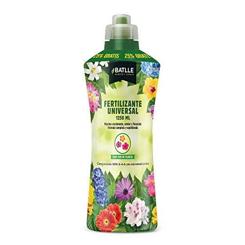 Abonos - Fertilizante Universal Botella1250ml - Batlle