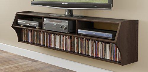 Espresso Altus Plus 58' Floating TV Stand