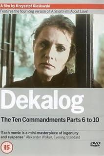 Dekalog: Parts 6-10 [DVD] [1988] (B00005V4UG) | Amazon price tracker / tracking, Amazon price history charts, Amazon price watches, Amazon price drop alerts