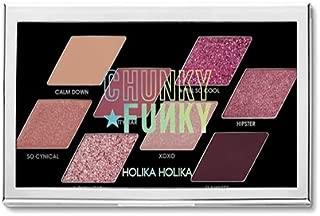 ホリカホリカ チャンキーメタル8色アイシャドウパレット/HOLIKA Chunky Metal Eyeshadow Palette 韓国コスメ (02 FEEL SO COOL) [並行輸入品]