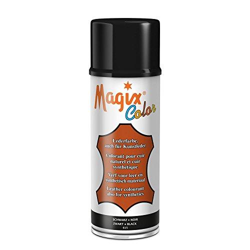 Magix Lederfarbspray 470ml zum Umfärben verschiedene Farben (470ml Spray, Schwarz)