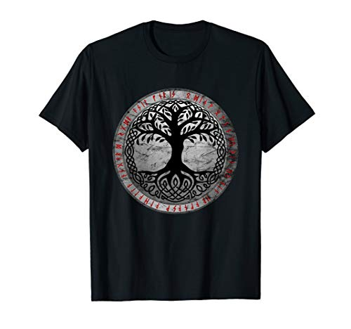 Yggdrasil The Celtic Tree of Life Vintage Norse Gift T-Shirt