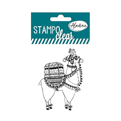Aladine 04387 Stampo Clear Individuel Lama 1