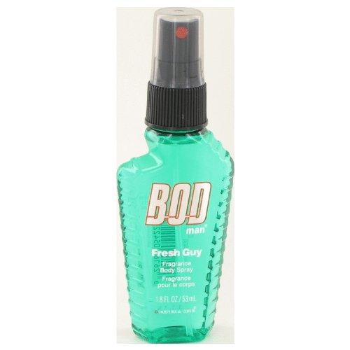 Bod Man Fresh Guy By Parfums De Coeur Fragarnce Body Spray 1.8 Oz For Men