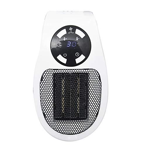 ZCZZ 220V 500W Mini Ventilador Eléctrico Portátil Calentador De Escritorio Hogar Pared Práctica Estufa De Calefacción Radiador Calentador Máquina para Invierno