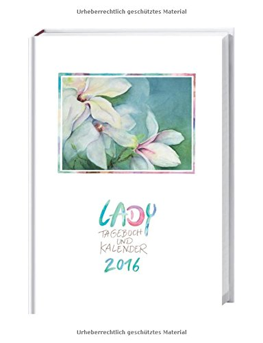Lady Tagebuch A5 2016