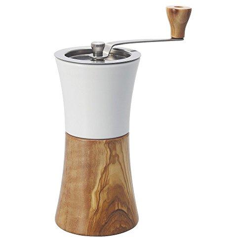Hario Keramische koffiemolen Hout, Wit, 91 x 87 x 208 cm