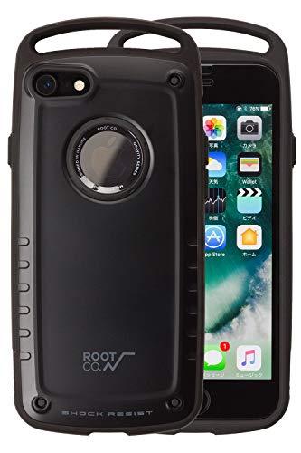 【ROOT CO.】iPhone7 iPhone8 ケース 耐衝撃 GRAVITY Shock Resist Case Pro. (マットブラック)米軍MIL規...