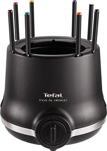Tefal EF 256812 Fondue Ef256812, 800 W, Negro, Acero inoxidable