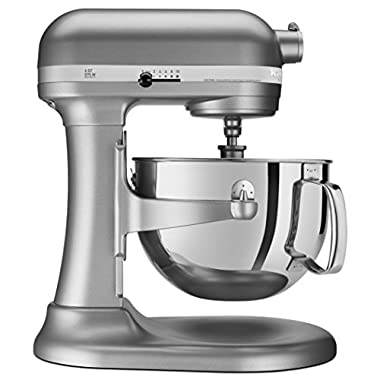 KitchenAid  RKP26M1XSL Professional 600 6-Qt. Bowl-Lift Stand Mixer, Certified Refurbished