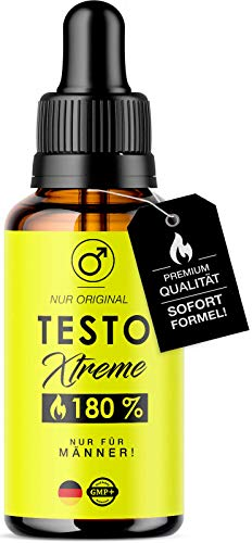 *Neu* Original Testo Extreme Tropfen für Männer I Performance for Men I Testosteron Booster I Testo Booster Tropfen