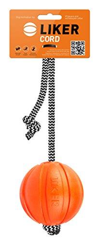 Collar Liker Balle Jouet Attractif/Motivant avec une Corde pour le Chien Diamètre 7 cm