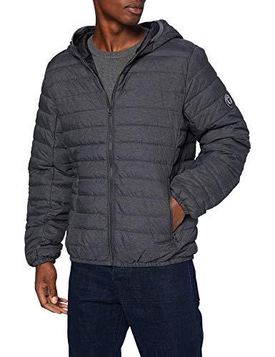 Teddy Smith 12013525D Jacket, Melange Black, Small Homme