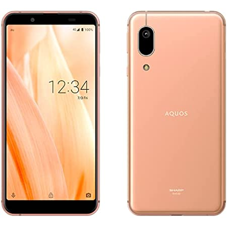 AU AQUOS sense3 basic SHV48 ライトカッパー Light Copper スマートフォン本体