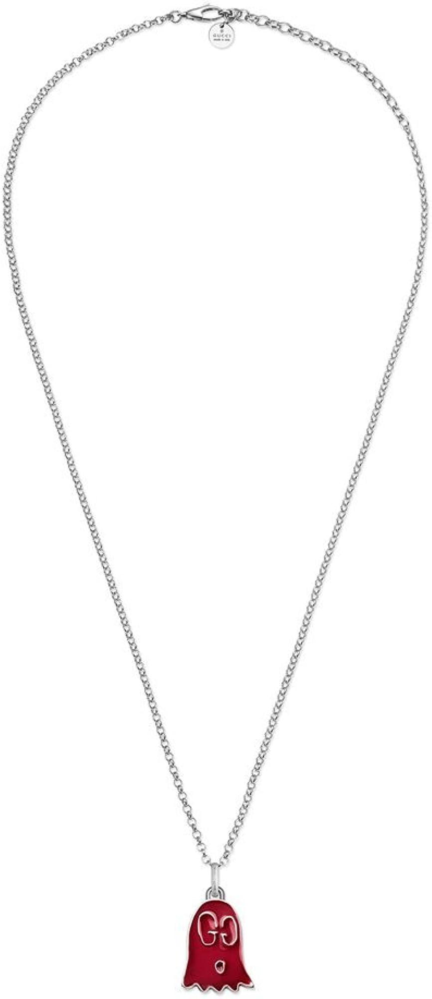 Gucci, collana con ciondolo per donna,in argento sterling 925 YBB45936400200U