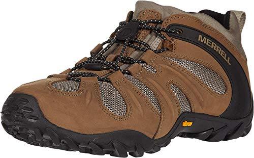 Merrell mens Cham 8 Stretch Hiking Shoe, Kangaroo, 10.5 US