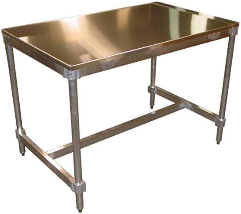 PVIFS AIFT303436 ST Stainless Steel Top I Frame Work Table 36 Length X 30 Width X 34 Height