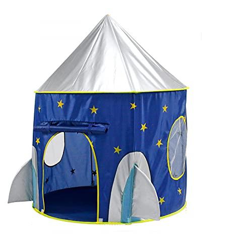SIQI Kids Play Tent, Space Tent Carpa emergente para niños Prince Castle House Palace Carpa Carpa de juegos con bolsa de transporte Juguete portátil Regalos de cumpleaños de Navidad para niños, niñas,