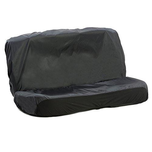 El set consiste en fundas para asiento trasero de estilo corrido. Son resistentes al agua, se pueden limpiar con un paño y protegen los asientos. Compatibles con airbag y resistentes a los desgarros. Aptas para la mayoría de vehículos: incluyen ganch...