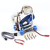 AM28448 Elf Brushless Ptz Silver Set Completo para Phantom CNC Brushless Ptz Camera Mount Gimbal Motor Controller