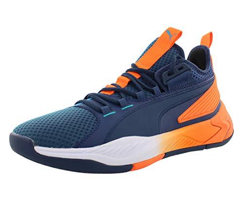 PUMA Mens Uproar Hybrid Court ASG Fade Blue Athletic Basketball Shoes 11.5