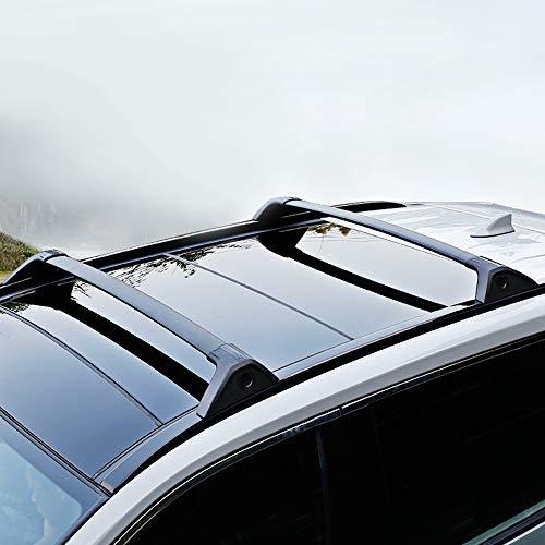 Bomely Roof Rack Crossbars for 2019 2020 2021 Toyota RAV4 Black Matte Aluminum Cross Bars Luggage...