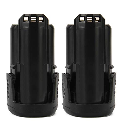 Creabest 2Packs 3.0Ah 12V Max Lithium-Ion B812-03 Battery Compatible with Dremel 8200 8220 8300, B812-02 Li-ion 12V Batteries Rotary Oscillating Power Tools