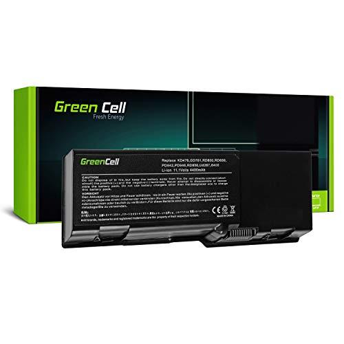 Green Cell® Standard Serie GD761 Laptop Akku für Dell Inspiron 1501 E1505 6400 Vostro 1000 Latitude 131L (6 Zellen 4400mAh 11.1V Schwarz)
