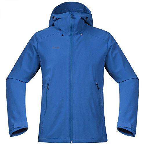 Bergans Ramberg Softshell Jacket Men Größe L Fjord/Dark Steel Blue