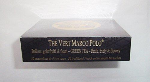 Inconnu Mariage Frères - THÉ Vert Marco Polo - Boîte de 30 sachets Mousseline de thé