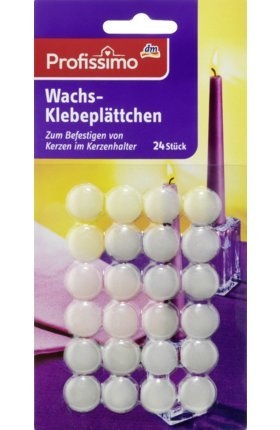Profissimo Wachs-Klebeplättchen, 1 x 24 St