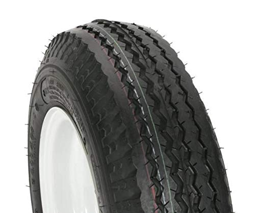 Kenda Trailer Tire/Wheel Assembly - 6-Ply Rated/Load Range C - 4.80/4.00-8 - 5 Hole Rim 30060