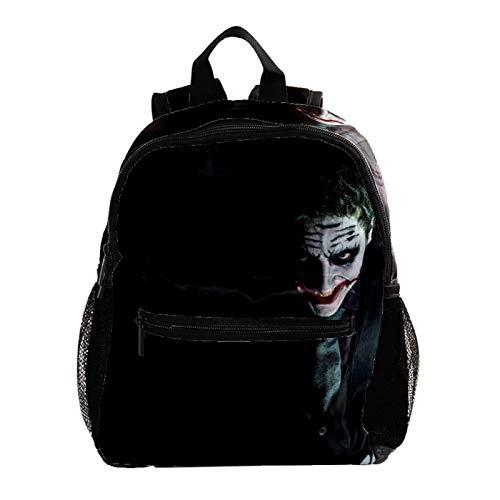 Lightweight Backpack for School, Classic Basic Casual Daypack for Travel with Bottle Side Pockets,Black Joker