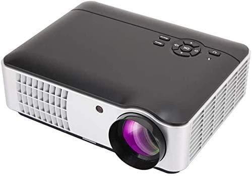 YUYANDE Proyector de Video HD Completo de 1080p Full HD 1280 × 800p, proyector de proyector Bluetooth Proyector, 2800 lúmenes, proyector portátil de Cine en casa, PC, TV Caja, PS4