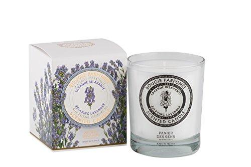 Panier Des Sens Essential Collection: 6oz relajante vela con aroma de lavanda