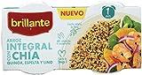 Brillante Arroz Integral Con Chía, Quinoa, Espelta Y Lino 125G X 2 - [Pack De 8] - Total ...