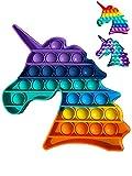 Pop it Fidget Toy | Juguete Sensorial Antiestres Para Niños y Adultos | Bubble Push pop | Juguetes de Explotar Burbujas para Aliviar Ansiedad y Estrés | Pop it Dinosaurio | Push Pop Dino 2