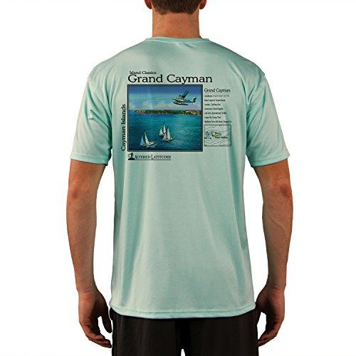 Island Classics Grand Cayman Men's UPF 50+ Sun Protection Short Sleeve T-Shirt Large Seagrass
