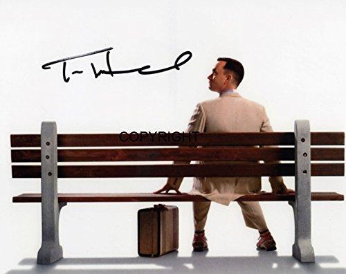 Limited Edition Tom Hanks Forrest Gump Signiert Foto Autogramm signiertsigniertes