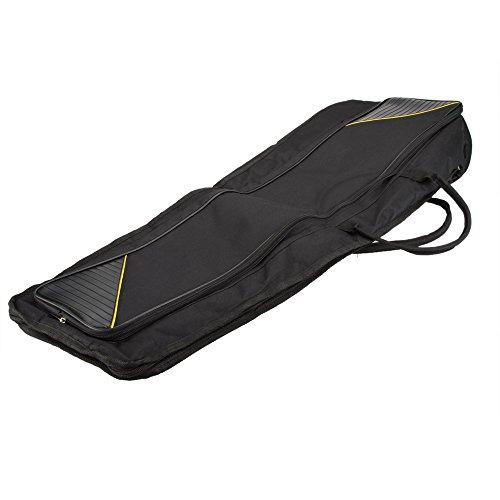 Andoer® – 600D wasserabweisende Gigbag mit verstellbaren Schulterriemen und 5mm Baumwollpolstert für Alt-/Tenor-Posaune.