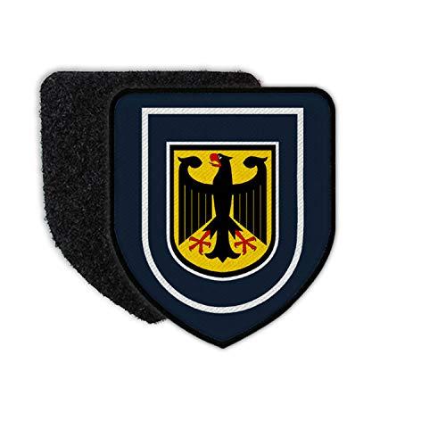 Copytec Patch Bundespolizei Abzeichen Adler Bundesadler Bundesrepublik Wappen #31161