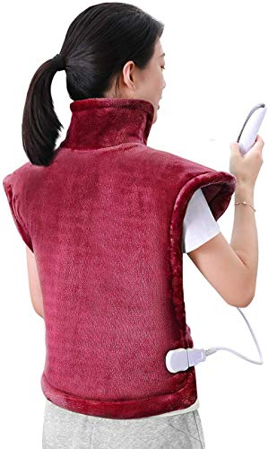 MaxKare Electric Heating Pad Neck Shoulder and...