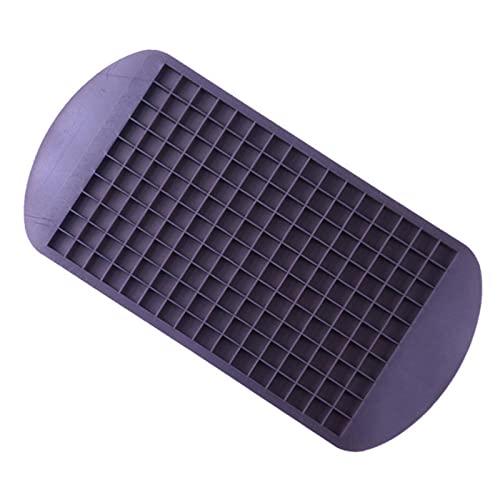 JIAKUAN Grado alimenticio 160 barra de gel de sílice cubos de hielo bandeja mini cubos de hielo pequeño molde cuadrado máquina de hielo cocina