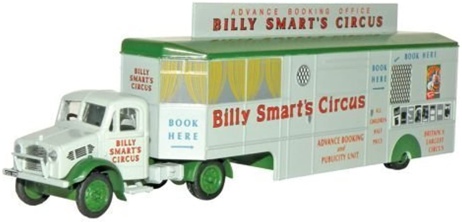 Oxford Diecast Bedford OX Booking Office Billy Smarts 76BD013 by Oxford Diecast