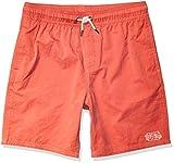 RVCA Boys' Opposites Elastic Short, Coral Pink, L