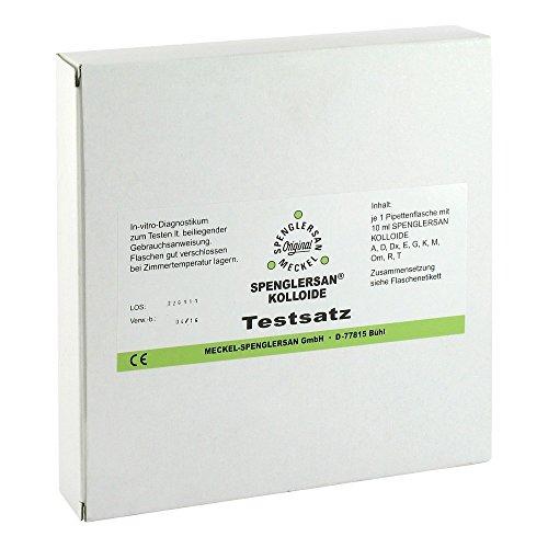 SPENGLERSAN KOLLOID TEST, 10X10 ml