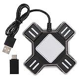 Tosuny Gamepad Converter Adapter für PS4 / PS4 Pro / PS4 Slim/für XBOXOne/Xbox One S/Xbox One X für PS3 / PS3 Slim/Switch, Spielekonsolen Maus- und Tastaturkonverter, universal USB Schnittstelle