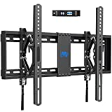 Mounting Dream Advanced Tilting TV Wall Mount with Full Tilt Extension for 42-70 Inch TVs, Extends up to 7 inch and Max Tilting Your TV , fits 16-24 Inch Studs , VESA 600x400mm, MD2104