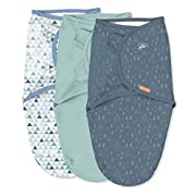 SwaddleMe Original Swaddle – Size Large, 3-6 Months, 3-Pack (Mountaineer )